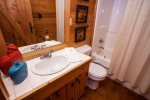 Hot tub located just steps away from the master bedroom