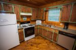 Fully equipped kitchen with all the basic cooking necessities