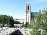 Views from the Windows of Le Parvis of Notre Dame