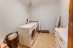 The lakefront area has a large yard area and a dock...perfect for picnicking and enjoying the lakefront