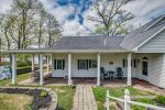 Pool table in great room