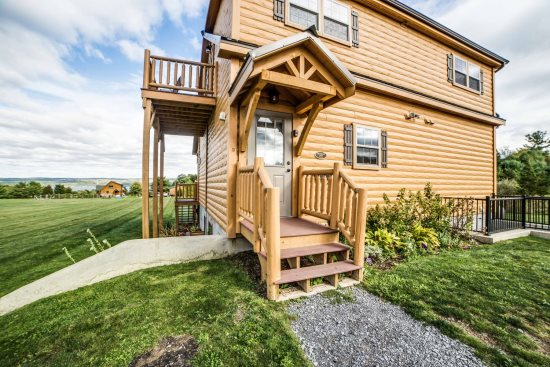 Chateau Vacation Cabin Rental Finger Lakes Ny