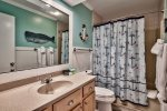 Guest Bathroom  Shower/Tub Combo