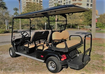 Golf Cart With Satellite Tv on golf cart with lift, golf cart with air conditioning, golf cart with bar,