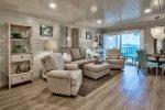 Stylish Heron Walk Condo w/Bay Views! Includes Golf Cart  Pool/Beach Access
