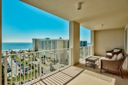 Amazing Gulf Views at Ariel Dunes 10th Floor! Pool Access! Great Beach Location!