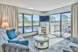 AMAZING Bay, Golf Course and Lake Views in this Sandestin Condo Pool, Beach Access, Golf Cart