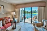 1BD/1BA Bayside Vacation Condo Located inside Sandestin Golf and Beach Resort  1st Floor   GOLF CART included