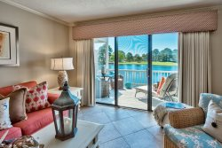 1BD/1BA Bayside Vacation Condo Located inside Sandestin Golf and Beach Resort~1st Floor~GOLF CART included