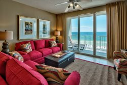 Lovely 2 Bd/2Ba Beachfront Condo~Located at Majestic Sun~Amazing Gulf Views~Pool & Beach Access