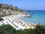 Konnos bay just 5 minutes drive away