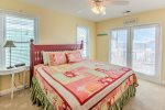 Ocean view master suite with King size bed.