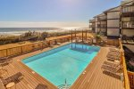 Take a dip in the large ocean side outdoor pool