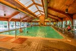 Indoor heated pool - open year round