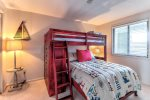 Third bedroom - bunk beds twin over full