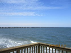 View from master bedroom - Chesapeake Bay Bridge