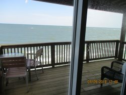 Deck off living room