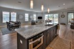 Ample Kitchen Counter Space for Any Family Meal
