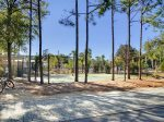 Camp Watercolor Basketball courts