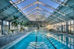 Sky Pool Features Three Individual Swim Lanes