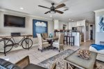 Enjoy Amazing Gulf Views from the Living Area