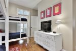 Guest Bedroom with Two Twin Over Twin Bunks