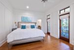 Screen Porch off Master with Ping Pong Table
