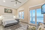 King Master Suite with mesmerizing ocean view.