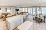 On the Beach features a great open floor plan on the 2nd floor.