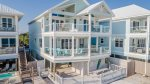 Sweet N` Salty Beachfront Home with Private Pool. Close to Pier Park