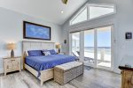 2nd King master bedroom on the 3rd floor. With balcony access and amazing views.
