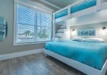 King master suite located on the 3rd floor, with a mesmerizing ocean view.