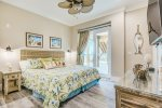 One of the six king ensuite bedrooms with a beautiful ocean view right from your pillow.