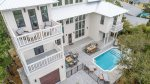 Cast Away on 30A. Spacious 6 bedroom home with a private pool