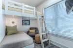 Queen over twin bunk room with en suite