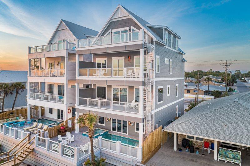 Terrific Beachfront Pool 2 Kitchens Grill Beach Walkover Download Free Architecture Designs Rallybritishbridgeorg