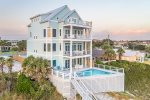 Breathtaking beachfront home that will knock those flip flops right off