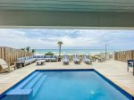 Sunny Balcony View of Trifecta East`s Emerald Coast