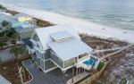 The Oasis, is a magnificent beachfront home