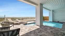 Stay Salty: BRAND NEW Home Ready to Rent! Beachfront, Outdoor Pool, Theater Room | Summer Savings: Book Today to Get 20% Off