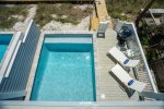 1,953 Square Feet  Two-Levels  Private Beachfront Location