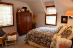 Upstairs Master Bedroom at Saltwater Snug