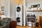 Stackable washer and dryer at Eagle View