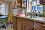 Kitchen at Sandpiper Cottage