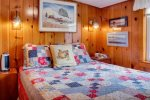 Bedroom with Queen Bed at Sandpiper Cottage