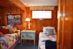 Guest Bedroom with two Twin beds at Sandpiper Cottage