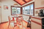 lower deck off the master bedroom at Beach Haven