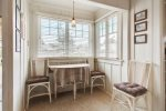 breakfast nook at Sisters