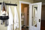 Master Bathroom with shower at Rabbit Hill Cottage