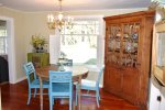 Dining room at Rabbit Hill Cottage